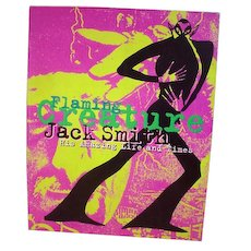 """Rare Out of Print Book """"Flaming Creature Jack Smith His Amazing Live & Times"""""""