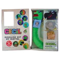 Mattel 1962 Cecil Disguise Kit, NRFB!!
