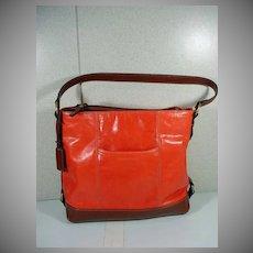 TIGNANELLO, Leather Saddle Bag Purse