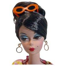 Mattel Silkstone  Brunette Barbie in Dressmaker Details Couture Ensemble