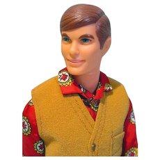 Mattel 1968 Talking Ken in The Suede Scene