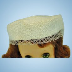 Madame Alexander Elise Size Pill Box Hat, 1950's