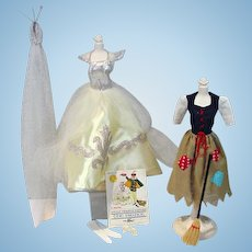 Vintage Mattel Barbie Complete Cinderella Outfit, 1964