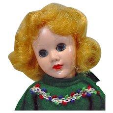 """Sandra Sue 8"""" Doll, Richwood Toys, 1958"""