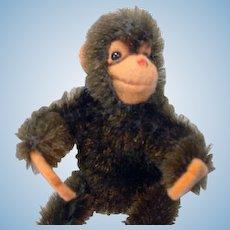 Steiff Mohair Monkey, Jocko, 1960's