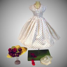 Ultra Chic Vintage Madame Alexander Cissy Size Spring Ensemble, 1950's