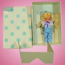 MIB Nancy Ann Storybook Doll, #84 Ring Bearer, 1940's