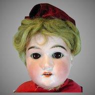 "Antique Floradora Armand Marseille Bisque Head 22"" 1890's"