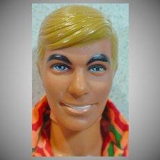 Vintage Mattel Malibu Ken Doll in 1971 Fashion Pak Clothing