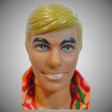 Vintage Mattel Malibu Ken Doll in 1971 Fashion Pak Clothing