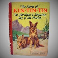 1927 Story of Rin-Tin-Tin Children's Book, Rare
