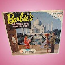 Vintage 1965 Barbie's Around The World Trip View Master Set
