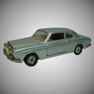 1980's Corgi Toys Silver Shadow Rolls Royce Die Cast Car