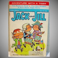 Vintage Jack and Jill Childrens Magazine, July 1964 w/Barbie Ad