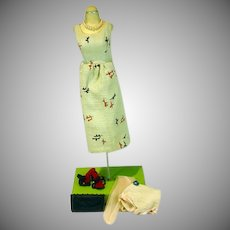 Madame Alexander Cissy Size Linen Sleeveless Sheath with Accessories, 1950's