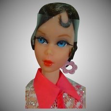 Vintage Mattel Talking Barbie, 1970, Talks!