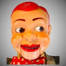 1950's Jerry Mahoney Paul WInchell Ventriloquist Doll, 24  Inches, Juro Novelty Toy Comp.