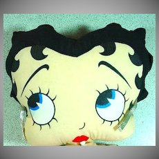 1980's Cloth Betty Boop Doll, Mint
