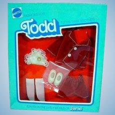 NRFB Mattel Todd Outfit, Ring Bearer, 1977