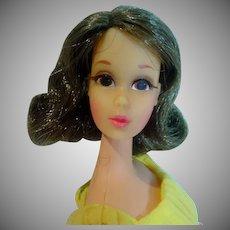 Vintage Mattel Walkin' Jamie in Lemon Kick, 1970