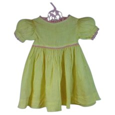 Vintage 1930's Doll Party Dress