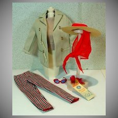 Vintage Mattel Barbie Outfit, Open Road, NM&Complete, 1961