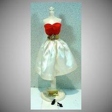Vintage Mattel Barbie Outfit, Silken Flame, 1960