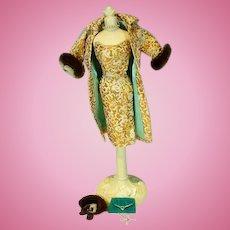Vintage Mattel Barbie Outfit, Evening Splendor, 1960, Compete!