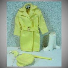 Vintage Mattel Skipper Outfit, Rain or Shine, 1965, Complete