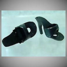 Vintage Mattel Number 1 Black Barbie Doll Heels, 1959
