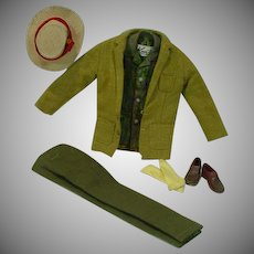 Vintage Mattel Ken Outfit, Dreamboat, 1961, Complete
