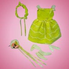 Vintage Mattel Skipper Outfit, Flower Girl, 1964, Complete