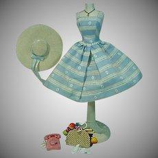 Vintage Barbie Outfit, Suburban Shopper, 1960, Complete!
