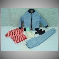 Vintage Mattel Ken Outfit, The Yachtsman, Complete, 1962
