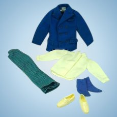 Vintage Mattel Ken Outfit, Town Turtle, Complete