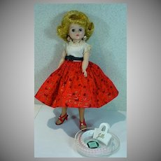 1958 Vogue Jill Doll in Square Dance Outfit