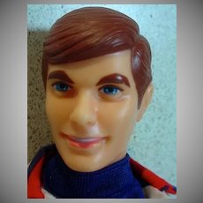 Vintage Mattel Talking Ken in The Casual Scene, 1970-71, Talks!