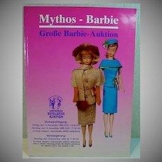 Rare German Barbie  Full Color Auction Catalog