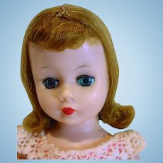 Vintage Madame Alexander Cissette Doll in 1963 Tagged Party Dress