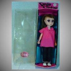 Vintage Susie Slicker Sad Eyes Doll w/ Box, 1960's