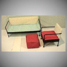Vintage 1950's Watko Doll Furniture