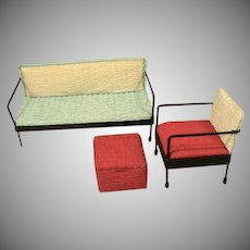 Vintage 1950's Watko Doll Furniture