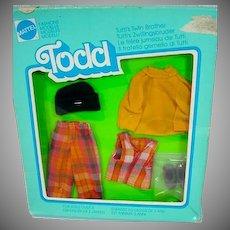 NRFB Mattel Todd Outfit, Kindergarten, 1979, European Market