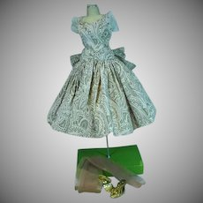 Vintage Madame Alexander Cissy Dress, Dore's Doll Shop, Texas, 1950's