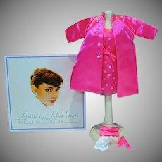 Mattel 1998 Audrey Hepburn Pink Princess Outfit