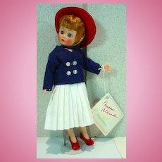"""Madame Alexander 10"""" Sailorette Cissette Portrette Doll, 1990's"""