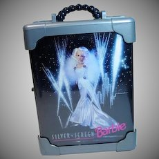 Vintage 1993 Silver Screen Barbie Carrying Case, FAO Schwarz Exclusive
