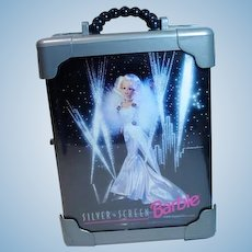Vintage 1993 Silver Screen Barbie Carrying Case, FAO Schwarz Exclusive