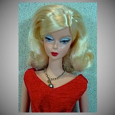 Mattel Silkstone Barbie in Dressmaker Details Couture Red Dress