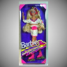 NRFB Mattel Rollerblade Barbie, 1991